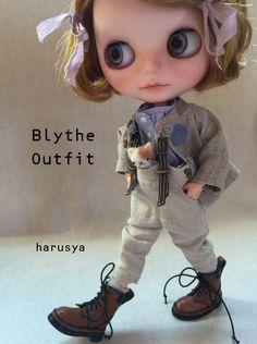 *Blythe outfit・パペット・洋服set ♪* - ヤフオク!