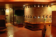 Palmer House – Interiors (1950) Frank Lloyd Wright Architect « Traverse360 Architecture