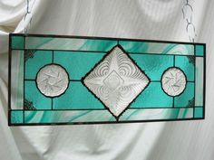 stained glass and dish patterns | Vintage Candy Dish Caprice Pattern Upcycled by HeritageDishes, $89.95