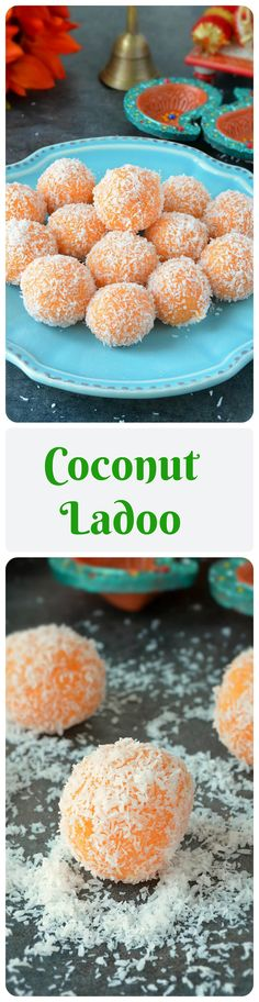 If you are looking for a last minute sweet for Ganesh Chaturthi then try out these yummy and mouthwatering coconut ladoos. A beginner's recipe that can be prepared in just 15 minutes.