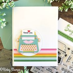 SugarPea Designs June 2019 Hi Friends! Today, I am playing along with the SugarPea Designs Mix It Up Challenge . Crushed Paper, Christmas Thank You, Rainbow Paper, Sending Hugs, Card Maker, Color Card, Clear Stamps, Pattern Paper, Your Cards