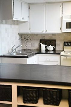 Redoing Laminate Counter-tops with Encore Concrete Refinisher