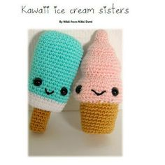 Crochet pattern PDF Amigurumi - Kawaii from NikkiDotti on Etsy
