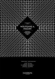 Art director Demian Conrad finds a way to visualize sound with his Camerata de Lausanne series.