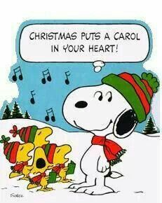 Christmas puts a carol in your heart!