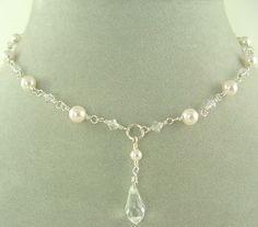 DIY Bridesmaid Necklaces freshwater pearls simple | Bridal, Bridesmaid Necklaces and Jewelry - Kiwi Jewels