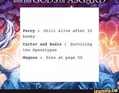 Percy Jackson sadie carter cane magnus chase More