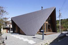 [건축] 날개 지붕이 우리 가족 지켜줘요~ 단언컨대 특이한 주택 디자인 Origami Architects : TSC Ar...