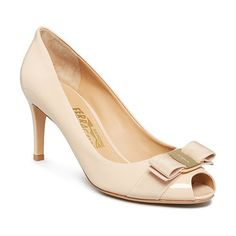 On SALE at 50% OFF! Pola Peep Toe Pumps by Salvatore Ferragamo. Salvatore Ferragamo Pola Peep Toe Pumps-Shoes