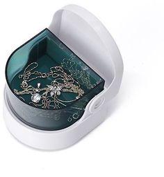 HDE Cordless Ultrasonic Jewelry & Denture Cleaner Sonic Range Ring Watch Teeth Wireless Polisher