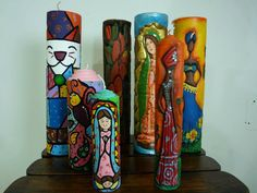 VELAS TALLADAS African Theme, Candle Making, Hand Carved, Party Themes, Carved Candles, Soap, Carving, Creative, Handmade