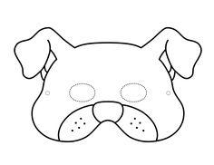 Mascaras de animales para colorear | Bebeazul.top Snoopy, Fictional Characters, Tea, Printable Masks, Mascaras, Printables, Costumes, Colors, Craft