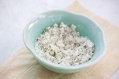 Rosemary Sugar: mini food processor or spice grinder add 1 tablespoon fresh chopped rosemary and 1/4 cup sugar