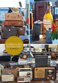 Spotted / California/ Alameda Point Antiques Faire~my show