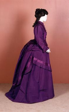 Day dress ca. 1870-73  From National Museums Scotland