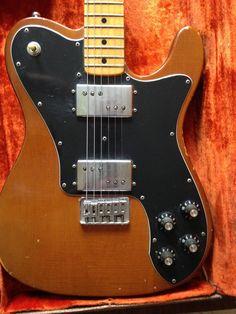 1972 Fender Telecaster Deluxe - Walnut