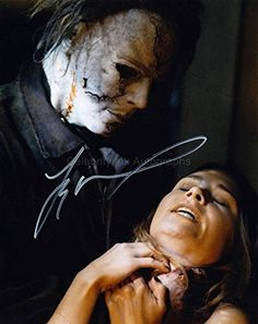 """TYLER MANE as Michael Myers - Halloween (2007) GENUINE AUTOGRAPH. A uniquely numbered Certificate Of Authenticity comes with each autograph. You are buying an original hand signed item - not a copy. If the change of autograph position is considerable, if the signer adds a comment or if another colour pen was used than in the item photo, then we will contact you for approval before shipping that particular autograph, All of our autographs are on 8"""" x 10"""" high quality photographic..."""