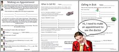Life Skills - Using a play phone to role play mutiple telephone skills in the classroom.