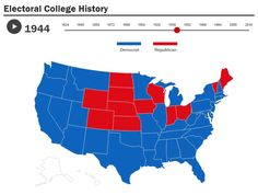 How America Voted in Every Election Since 1824 Us Presidential Elections, Us Election, Interactive Map, Infographics, Maps, America, History, Historia, Infographic