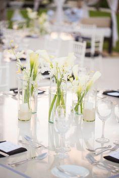 Beach Wedding | Photography by John Cain | Destination Wedding | Style Me Pretty Reception Ideas