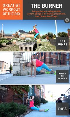Greatist Workout of the Day: The Burner