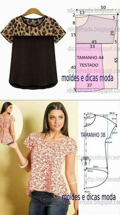 Free Sewing Sewing Hacks Sewing Projects Sewing Crafts Blouse Patterns Clothing Patterns T Dress Sewing Blouses Easy Sewing Patterns Dress Sewing Patterns, Blouse Patterns, Sewing Patterns Free, Sewing Tutorials, Clothing Patterns, Blouse Designs, Bag Patterns, Costura Fashion, Sewing Blouses