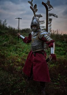 Polish winged hussar - wojtek