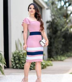 Latest African Fashion Dresses, Women's Fashion Dresses, Dress Outfits, Casual Dresses, Elegant Outfit, Classy Dress, Wardrobe Makeover, Modest Fashion, Dress Collection