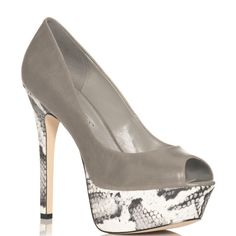 just fab heels   JustFab Paula Grey Women Shoes