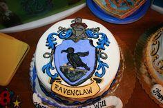 Ravenclaw+cake | My son's Ravenclaw Birthday cake
