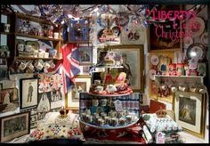 liberty window display 2009 #liberty #royal_memorabilia #english_style