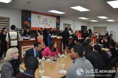 미국 뉴윈저 하나님의교회(안상홍증인회) 500포기 김치 담아 현지인에 선물