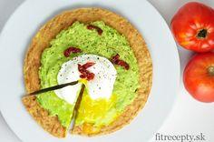 Výborná tuniakovo-avokádová pizza so strateným vajíčkom - FitRecepty