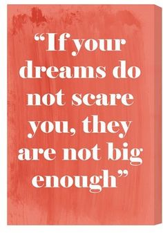Oliver Gal 'Big Enough' Wall Art (sponsored affiliate) #quotes