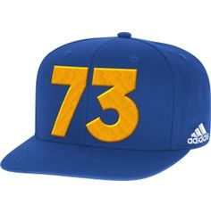 2be538afd6a Celebrate the Dubs record breaking season when you wear the adidas® Golden  State Warriors Adjustable Snapback Hat.