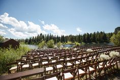 Wedding, West Yellowstone MT. Event Planning by Taylor'd Events