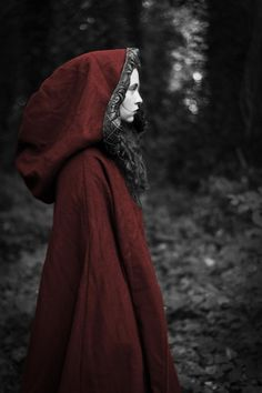 Well if it's all the same you seem rather lost to me. Lost, lost, lost. Rose Rouge is lost again in the woods. But I hardly doubt the wolf is the only thing you need to be worrying about.