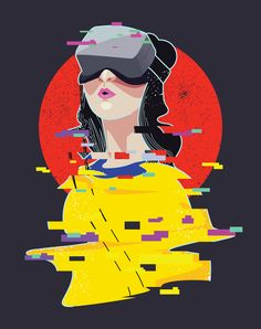 "Check out this @Behance project: ""virtual reality""…"