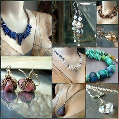 handmade jewelry.. want to start making my own when i move to WA & have no life/friends again lol