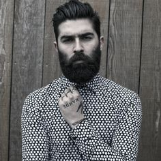 Beard Lover: 100 Gentle Beard Styles For Men To Try This Year. Lover: 45 Cool Short and Full Beard Styles for Men. Mens Modern Hairstyles, Popular Mens Hairstyles, Cool Haircuts, Haircuts For Men, Cool Hairstyles, Hairstyle Ideas, Makeup Hairstyle, Great Beards, Awesome Beards