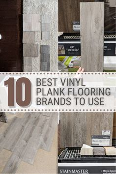 Today I'm sharing affordable vinyl plank flooring reviews from a homeowner. I'm looking at 10 different lines so you don't have to! :) Best Flooring, Vinyl Plank Flooring, Basement Flooring, Flooring Options, Flooring Ideas, Lifeproof Vinyl Flooring, Vinyl Floor Covering, Diy Home Repair, Luxury Vinyl Plank