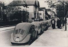 OG   1937 Volkswagen / VW Beetle   KdF-Wagen Prototypes W30 in Stuttgart