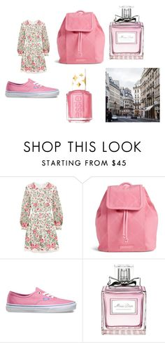 """Spring in Paris 2016"" by shycoygirl65 on Polyvore featuring Vilshenko, Vera Bradley, Vans, Christian Dior, Essie, women's clothing, women, female, woman and misses"