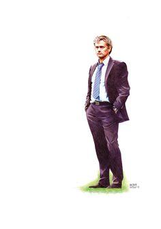 Mourinho by Baltasar Castillo