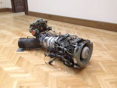 Roger Hiorns_#aircraft#motor#engine#art