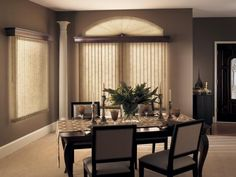 Just found the perfect window treatments!! - Blinds.com. – Fabric Verticals #homedecor #blinds #vertical-blinds