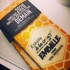 Vœux éthiques, emballage écologique Design Graphique, Instagram, Wrapping