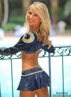 Cheerleader of the Week: Hannah St Louis Rams, Hot Cheerleaders, Beautiful Voice, The St, Sports Illustrated, Classy Women, Pretty Woman, Cheerleading, Nfl