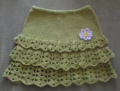 Green Skirt crochet inspiration