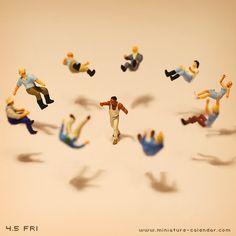 Hadouken    http://miniature-calendar.com/130405/